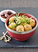 Arborio rice balls