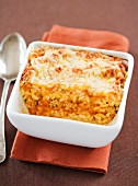 Rice and tomato gratin