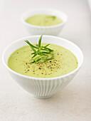 creamed tarragon soup