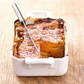 Apricot and pink praline Clafoutis