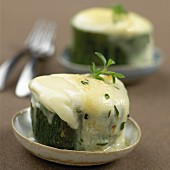 Zucchini with Rocamadour