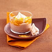Chestnut cream with orange