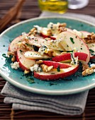 Apple,walnut and roquefort salad