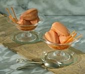 Karottensorbet