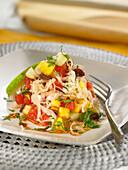 Krautsalat mit Ananas