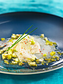 Carpaccio of fish with lime