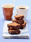 Chocolate and hazelnut brownie