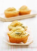 Fine herb savoury cakes
