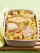 Tartiflette-style pasta