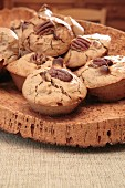 Pecan nut muffins