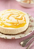Cheesecake with Grand-Marnier sauce