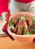 Tandoori chicken with fennel