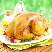 Roast chicken from the Landes