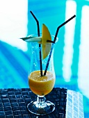 Mango-pineapple cocktail