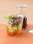 Duck Pot-au-feu Verrine