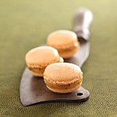 Pineapple-passionfruit macaroons
