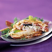 Gorgonzola and fig toasted sandwich