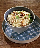 Chestnut and Rooquefort risotto