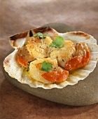 Scallops with ginger