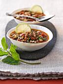 Harira (arabische Suppe)