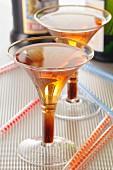 Two glasses of Kir
