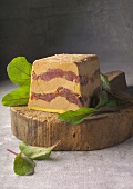 Duck Magret and Foie gras terrine