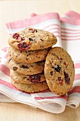 Summer fruit cookies