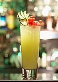 Gurken-Apfel-Cocktail mit Gin