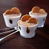 Chestnut and gingerbread puree