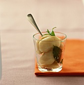 Grenaille-Kartoffeln mit ätherischem Lorbeeröl