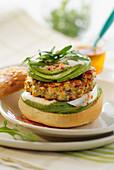 Chicken and Espelette mini burger