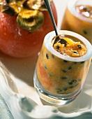 Passionfruit and kiwi jam