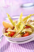 Curly endive mixed salad