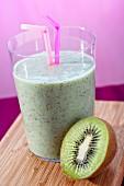 Sahniger Kiwi-Milchshake