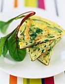 Catalan vegetable omelette
