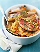 Red mullet fillets with fennel