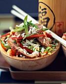 Kantonesischer Reis mit Ente