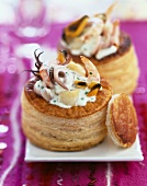 Seafood and Boursin Vol-au-vent