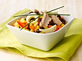 Tuna and summer vegetable salad