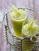 Green apple gaspacho