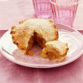 Apple and raisin pie
