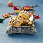 Small pistachio cookies