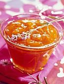 Apricot and lavander jam
