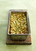 Green bean and pine nut terrine