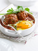 Kefta Tajine with an egg