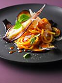 Spaghettis alla Norma
