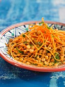 Lentil and carrot salad