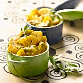 Lamb curry with exotic fruit