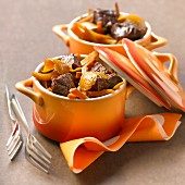 Daube with orange