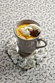 Carrot cappuccino